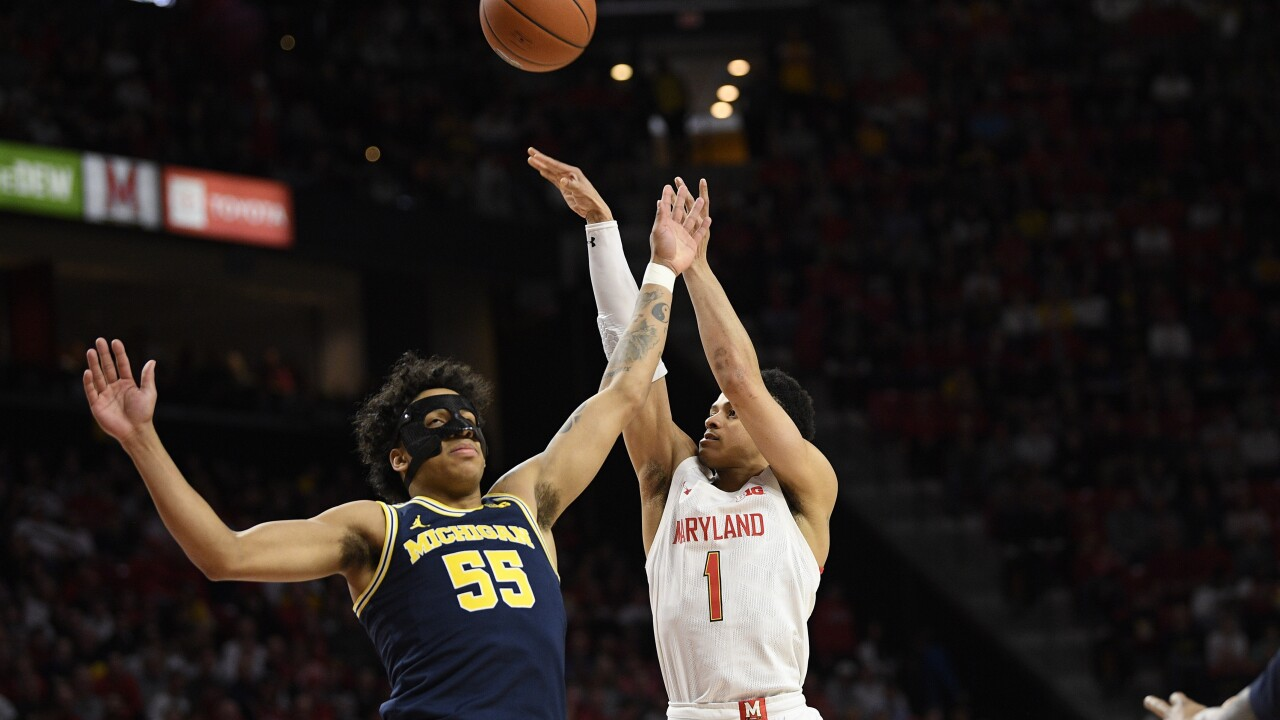 Michigan Maryland Basketball