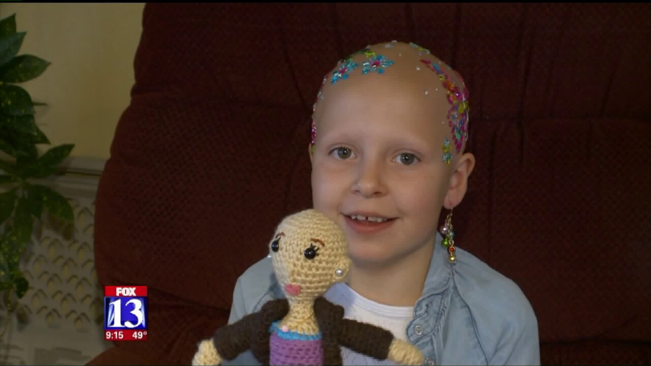Young Utahn battling auto-immune disease stands out on 'crazy hair day'