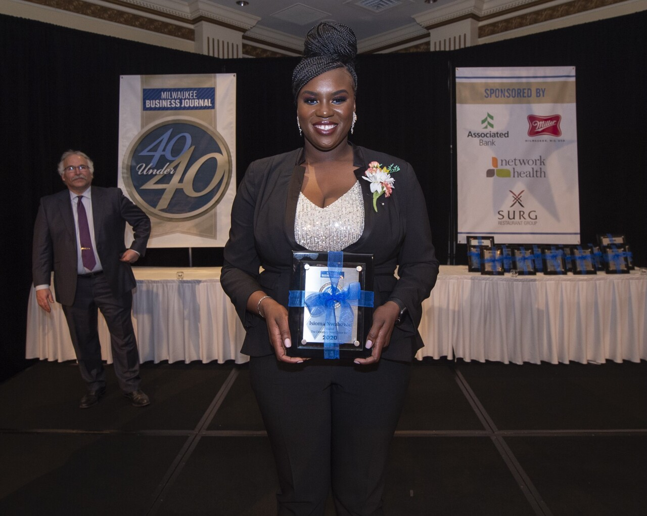 Attorney Isioma Nwabuzor, recognized as one of Milwaukee Business Journal's 40 under 40
