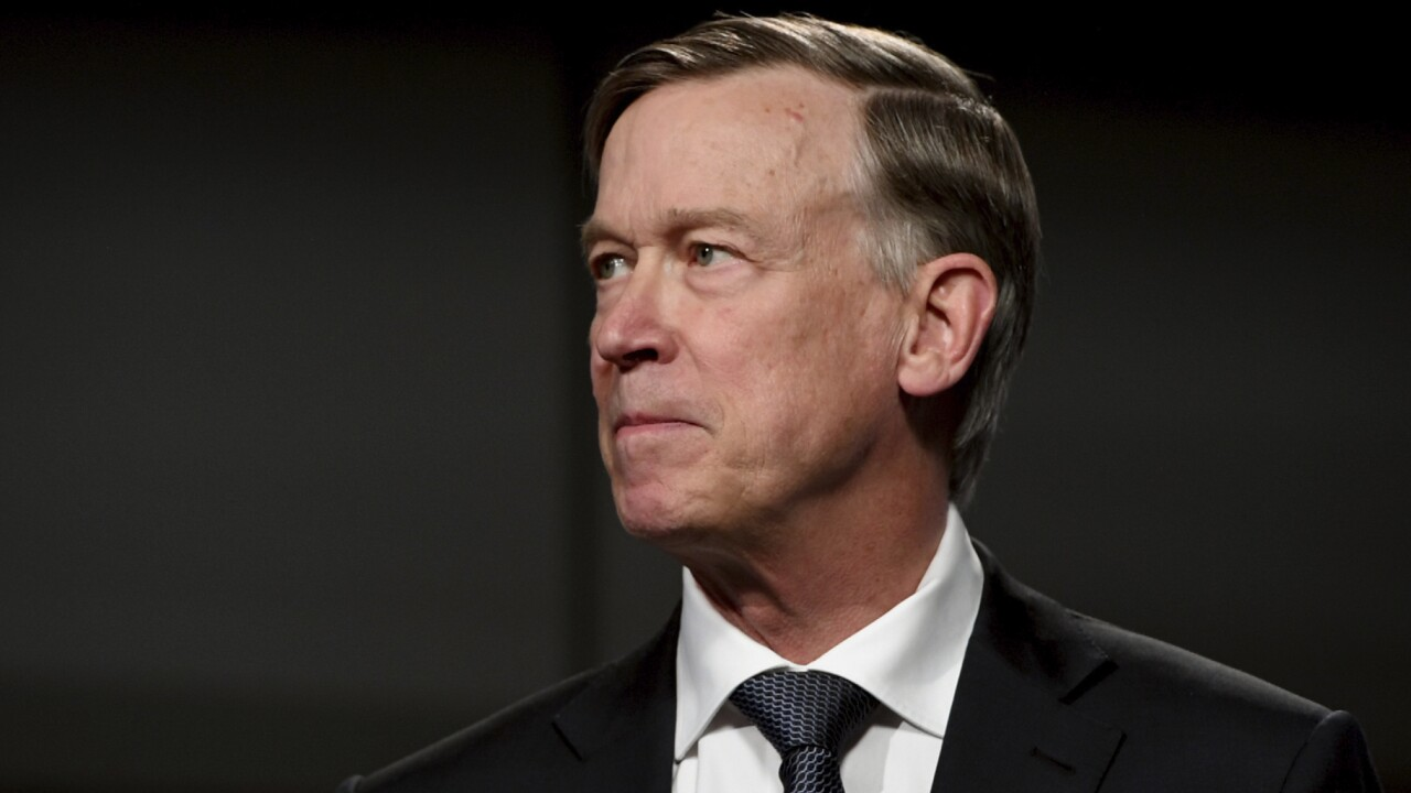 John Hickenlooper projected to win Colorado Senate seat, a gain for Democrats