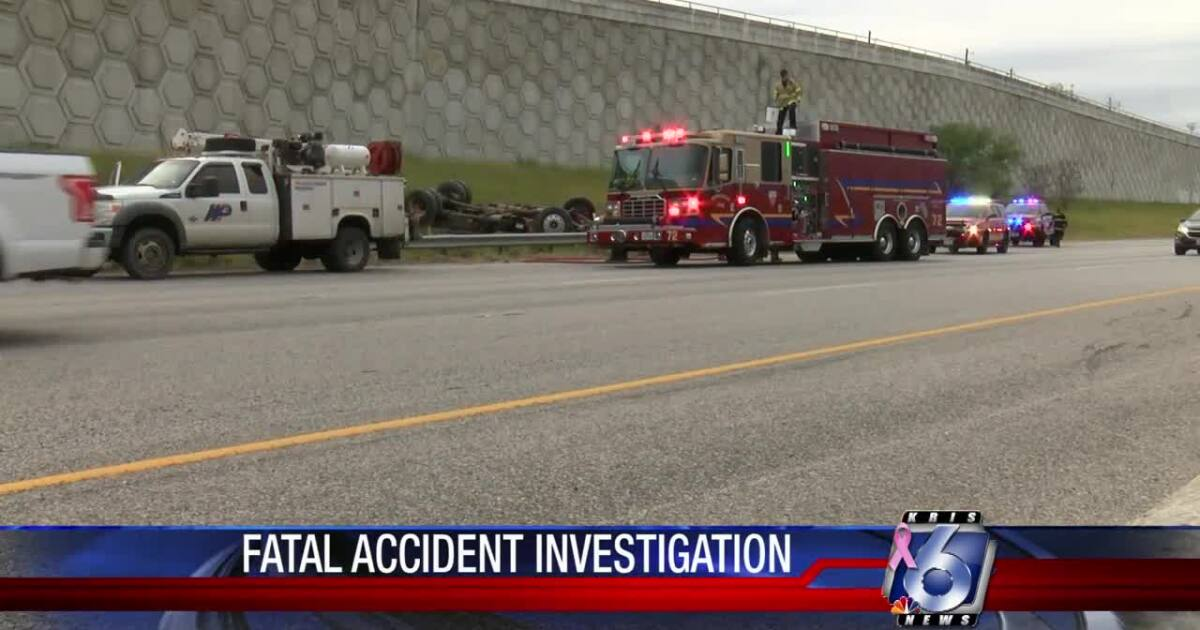 Victim in I-37 rollover fatality identified