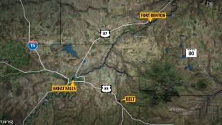 Cascade County Sheriff: road closures to Fort Benton and Belt