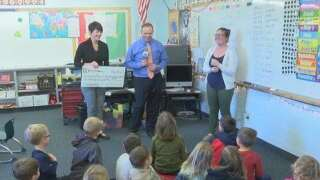 Gallatin Gateway School awarded One Class At A Time check