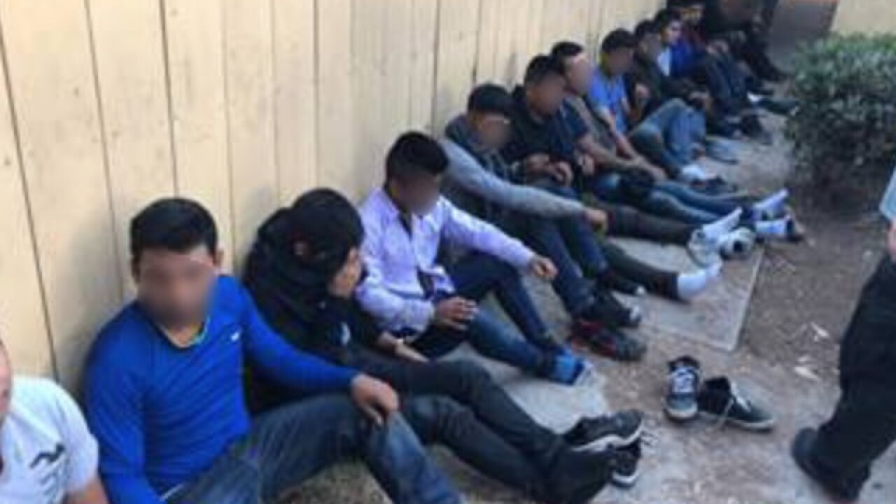 40 undocumented immigrants arrested in IB