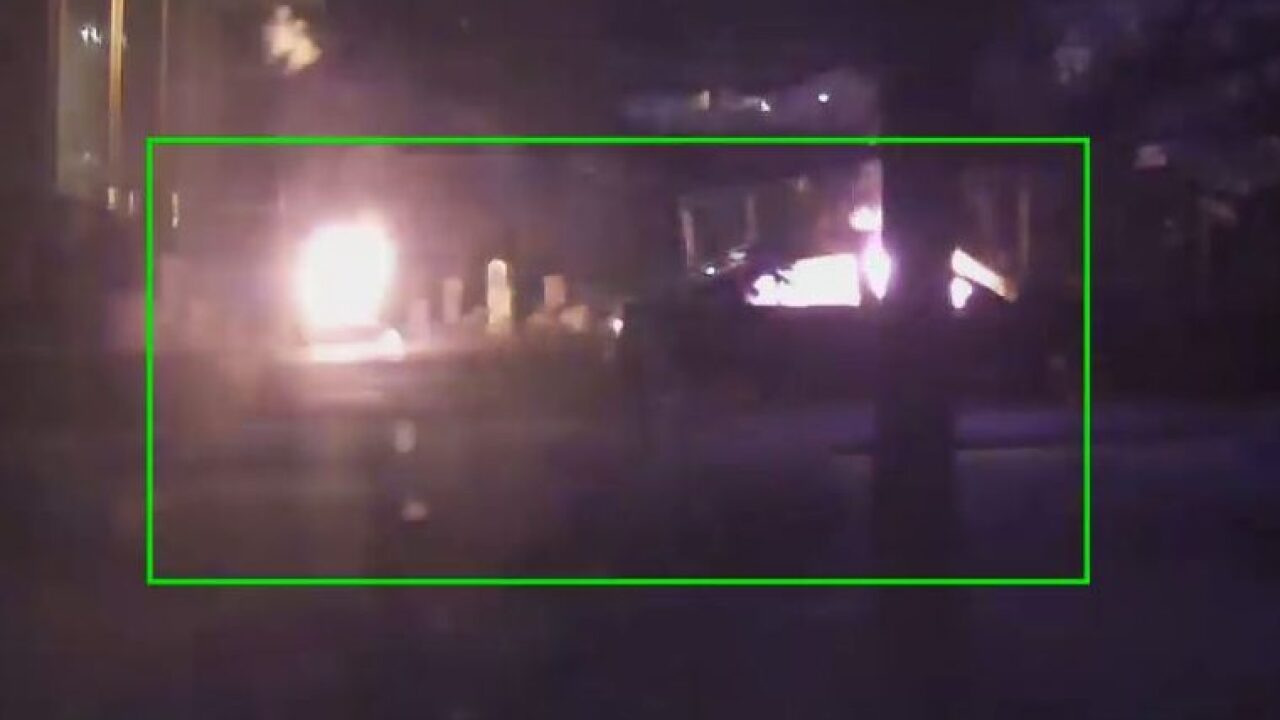 Bountiful police searching for man who torched stolen car, caught himself onfire