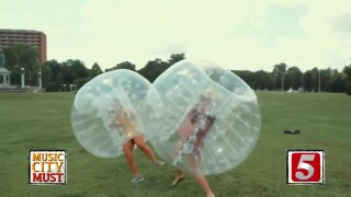 Slam Into Friends With Bubble Ball Soccer