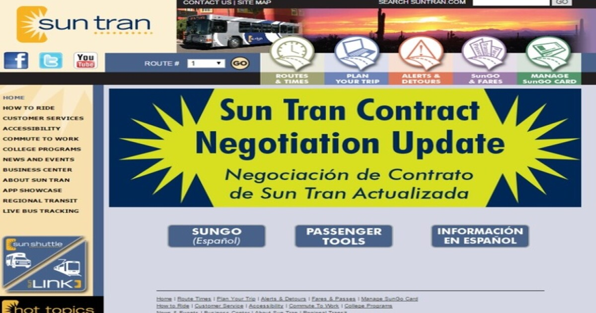 Sides reach deal to end bus strike in Tucson