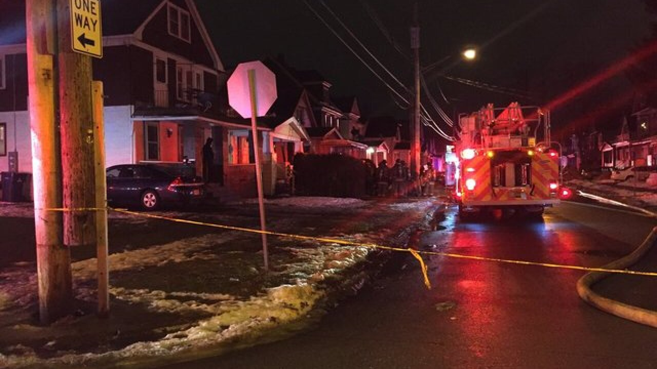 Crime scene established after Buffalo house fire