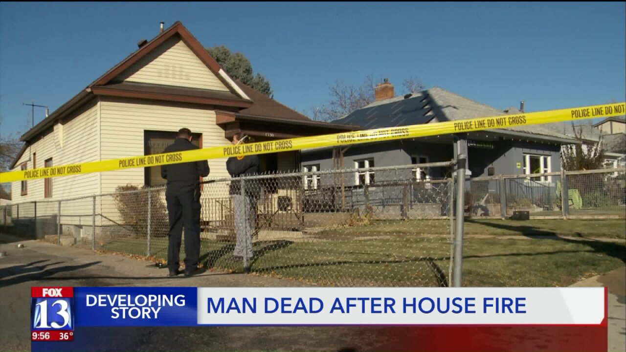 One dead in Salt Lake City housefire