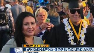 El Capitan student not allowed eagle feather at graduation