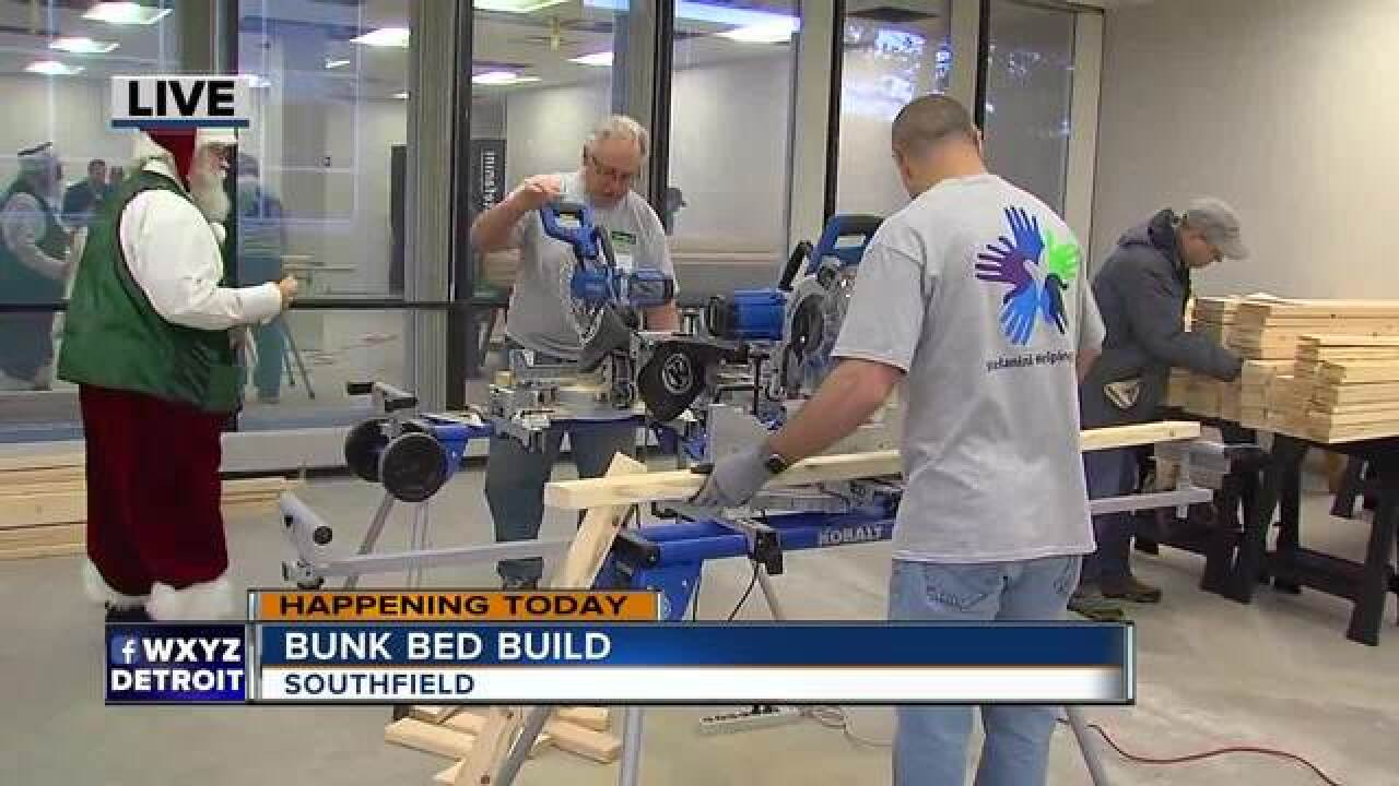 Twin beds to be built for kids in need