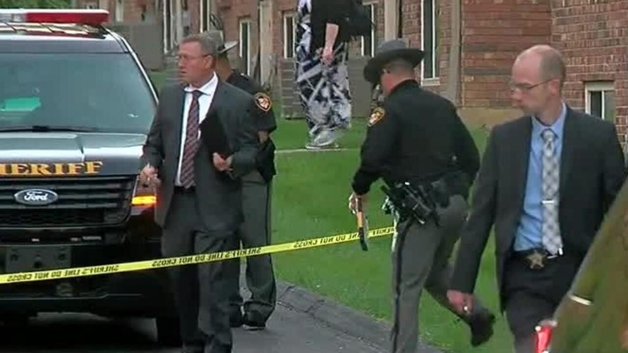 Police investigate Columbia Twp murder-suicide