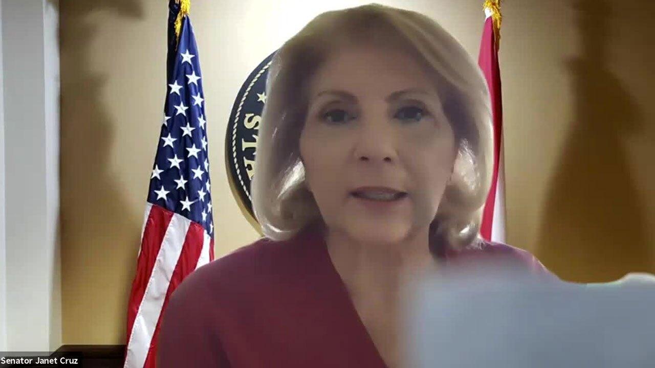 State Sen. Janet Cruz discusses push to funds schools that have mask mandates