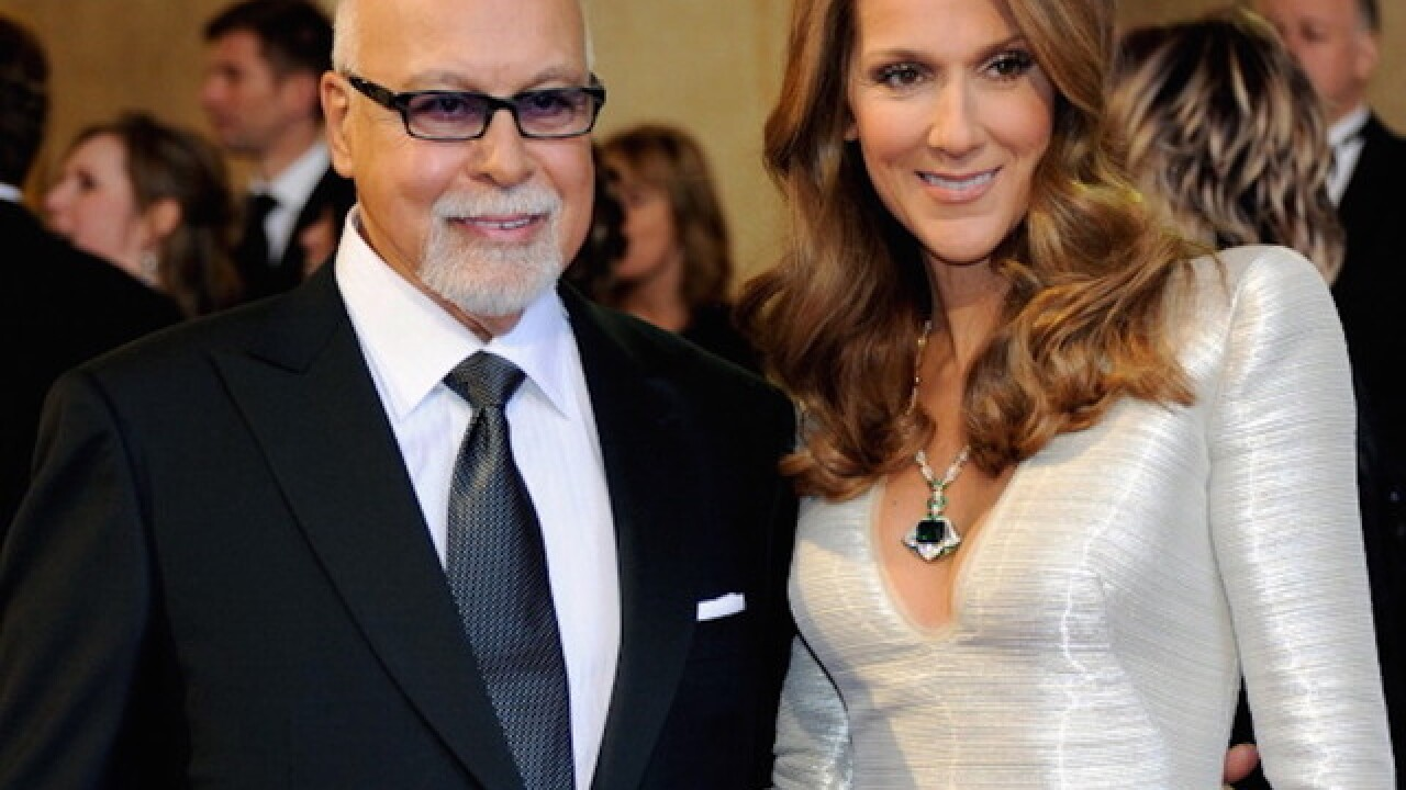 Celine Dion's husband has died