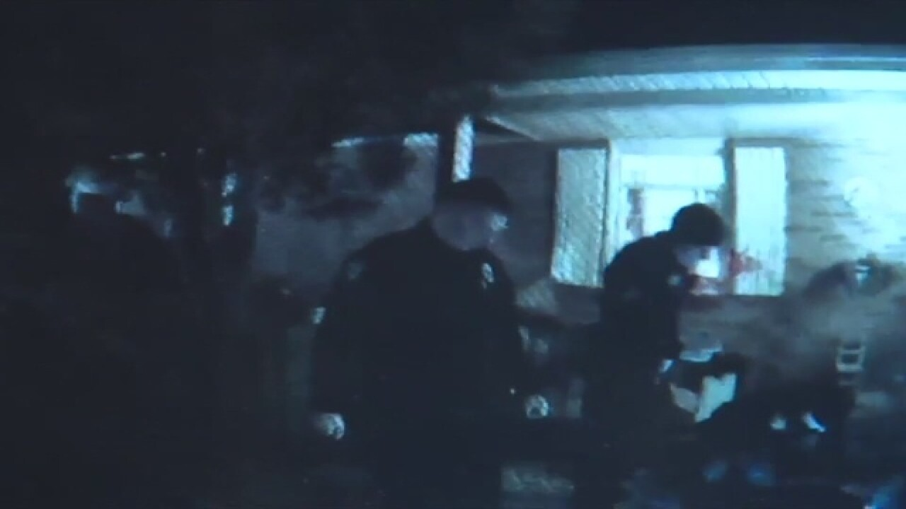 Body cam shows aftermath of Akron home break-in