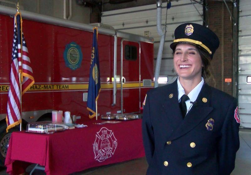 Lt. Maren Reilly, Great Falls Fire Rescue