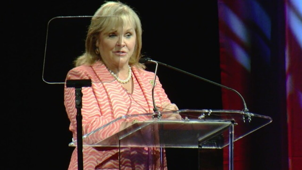 Governor Mary Fallin addresses education and economy in State of the State address