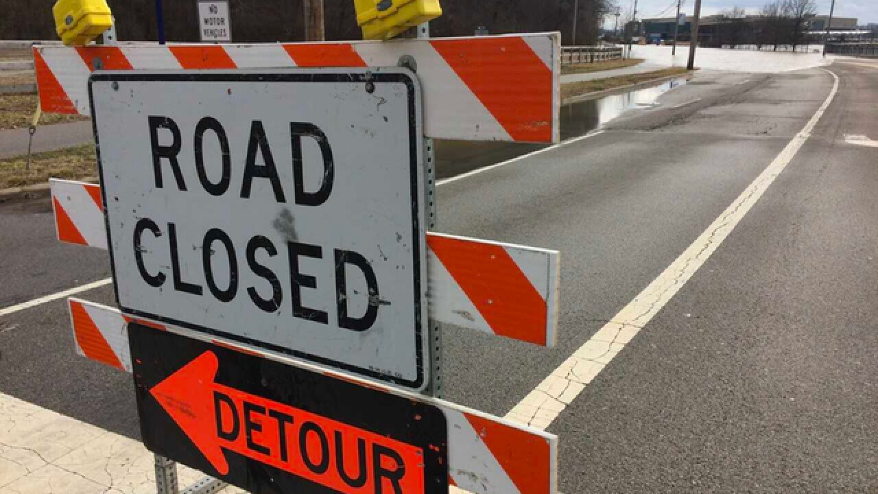 Southfield Road north of 12 Mile closed due to gas main repairs