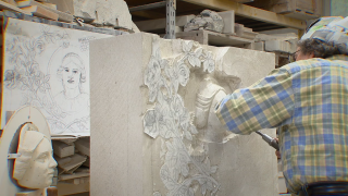 Man among few remaining stone carvers keeping the art alive