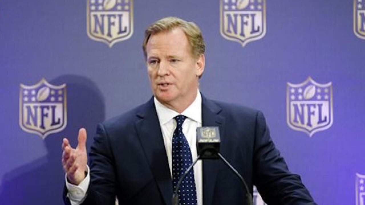 NFL confirms Twitter account hacked, Goodell OK