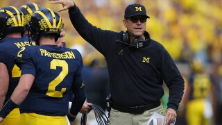 Jim Harbaugh says he's staying at Michigan, not returning to NFL