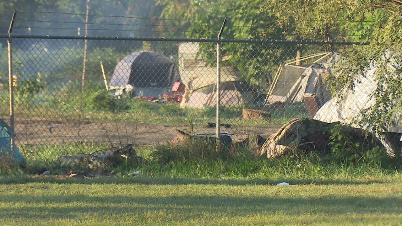 Ampersee Homeless Encampment - Kalamazoo