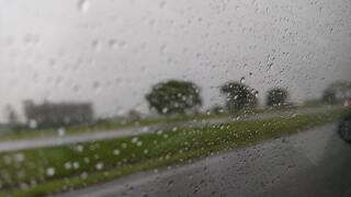 File image of rain.