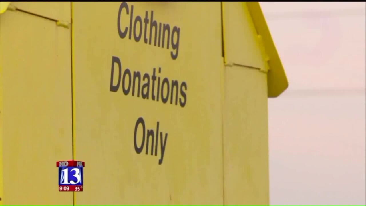 Community frustrated over junk by donation bins disposes of items