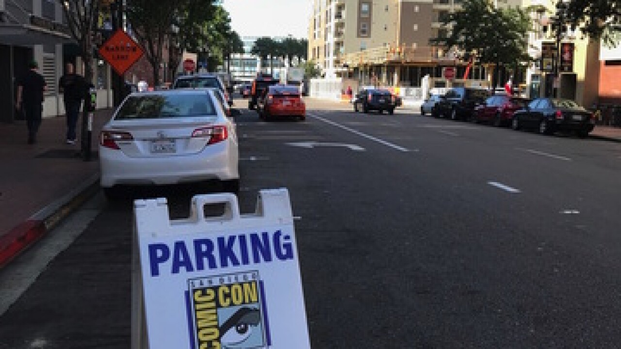 Where to park at San Diego Comic-Con 2018