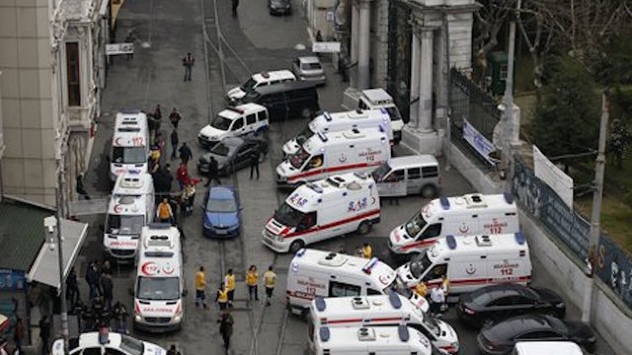 5 killed in Istanbul suicide bomb attack