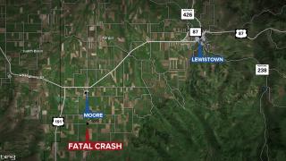 Fregus County Fatal Crash Web Map