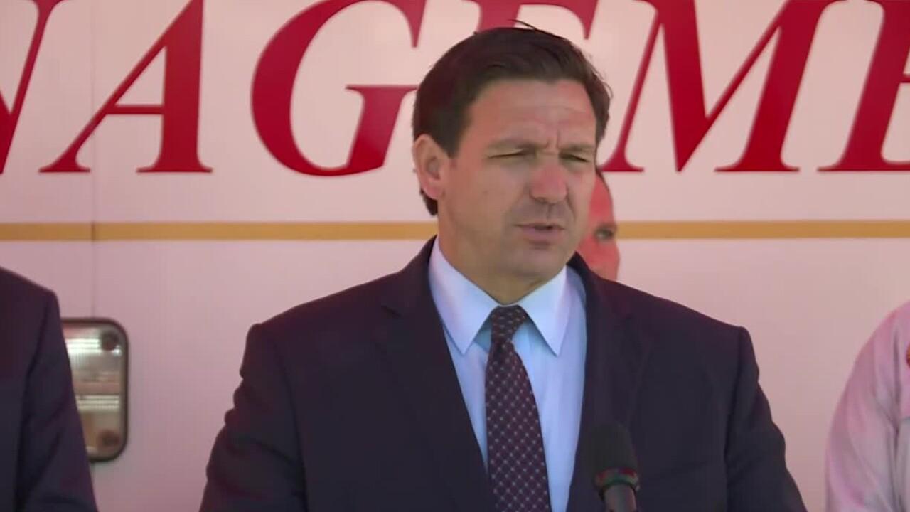 Florida Gov. Ron DeSantis holds a news conference in Jacksonville on Aug. 12, 2021.jpg