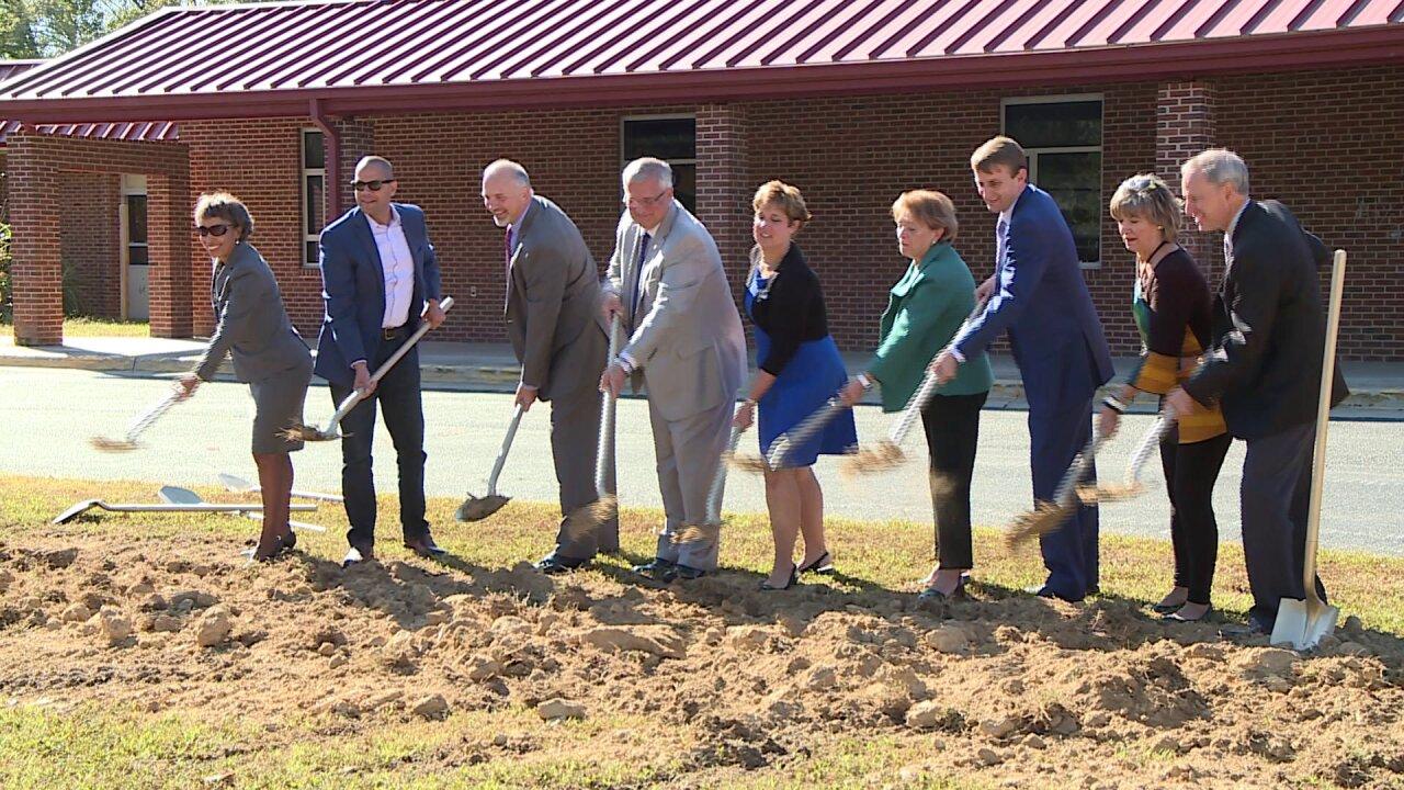 Chesterfield Schools break ground on new Reams RoadElementary