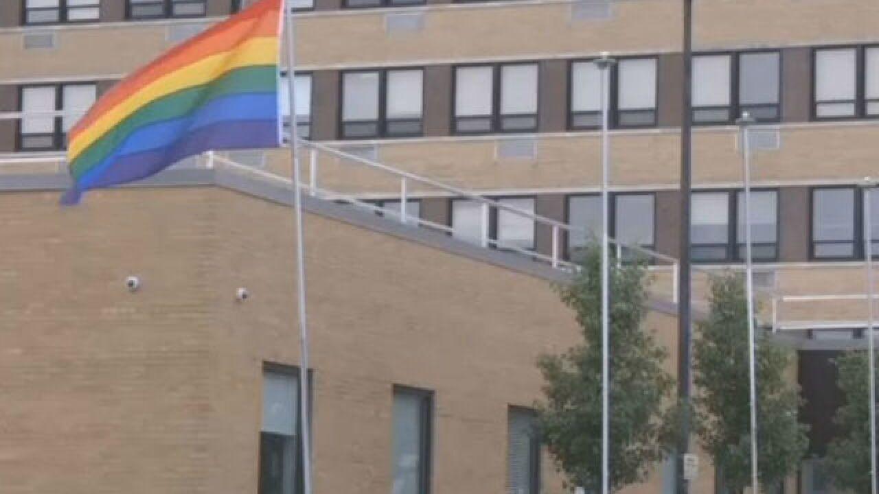 Ind. VA hospital raises LGBT pride flag