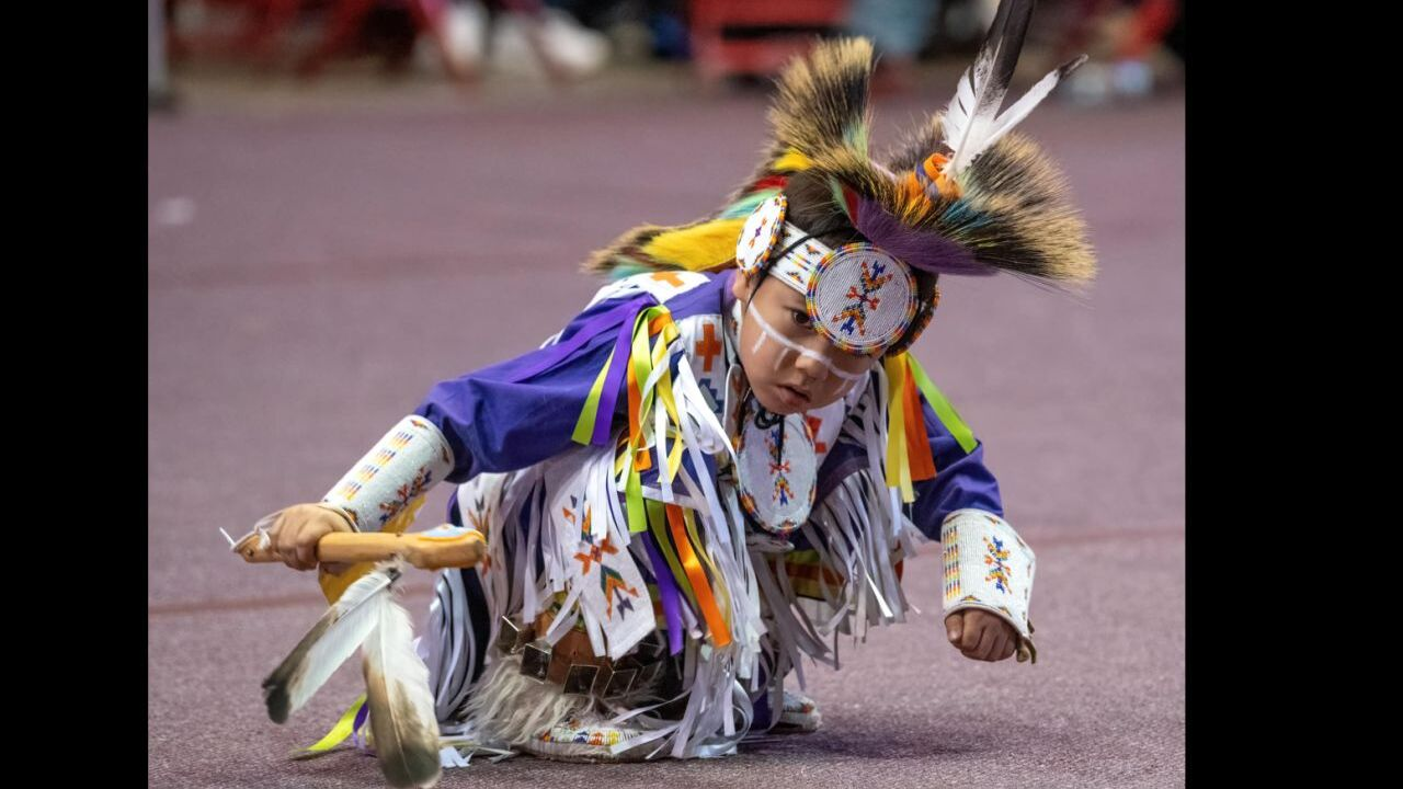 6-year old from Fort Belknap goes viral with ground blessing dance