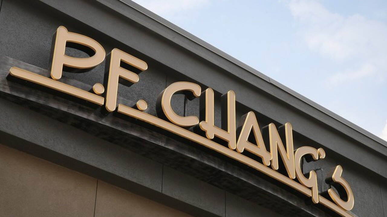 You can score free sushi from P.F. Chang's on Oct. 26
