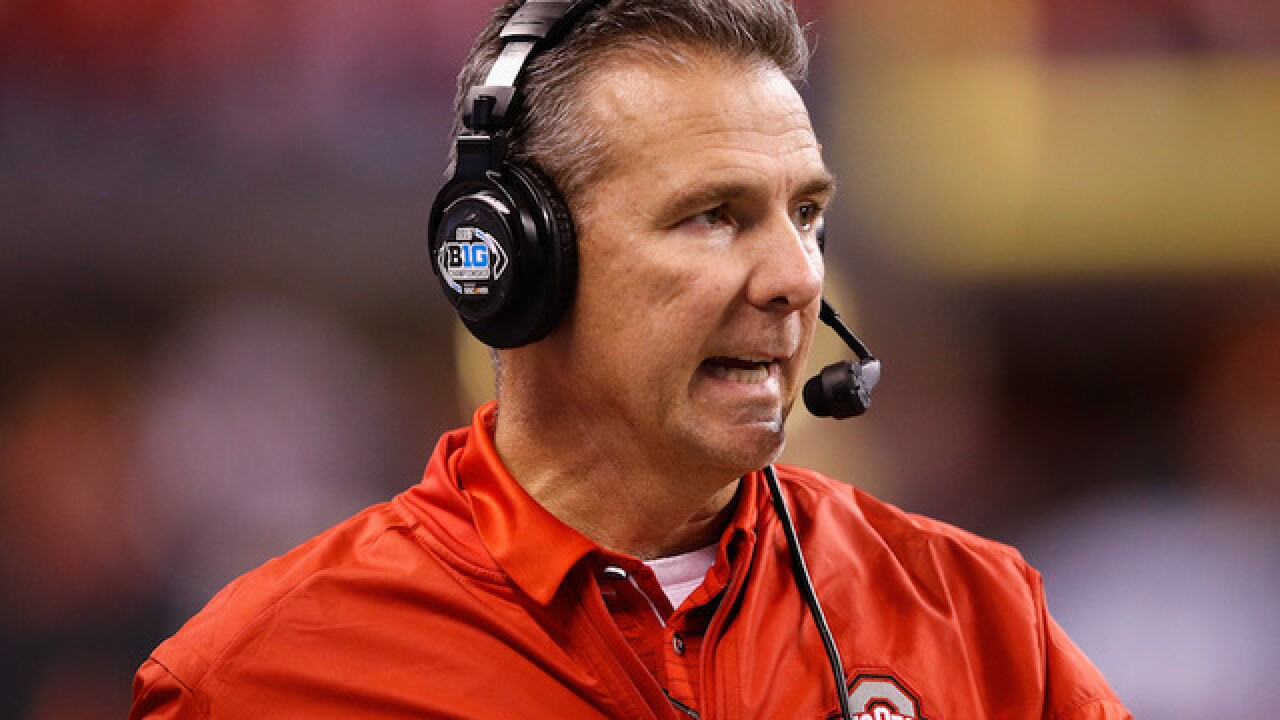 Urban Meyer suspended for three games by Ohio State for mishandling domestic abuse case