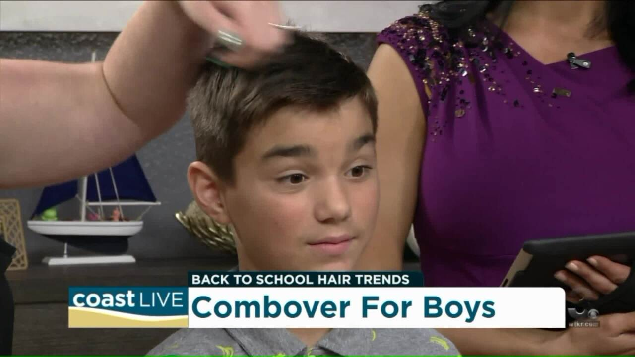 Easy and trendy back-to-school hairstyles on CoastLive