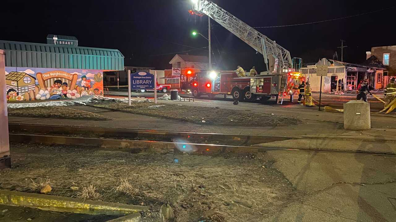 Muskegon Heights fire