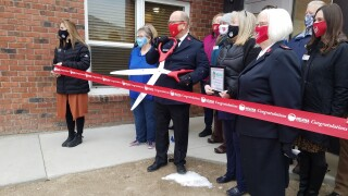 Helena Salvation Army ribbon cutting of new expansion