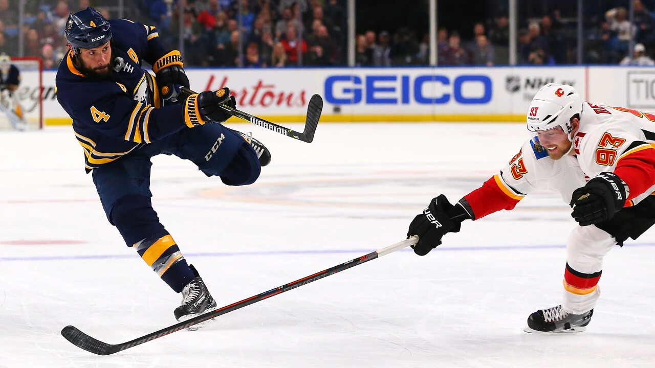 Zach Bogosian has averaged nearly 22 minutes a night for the Sabres, who are much improved this season