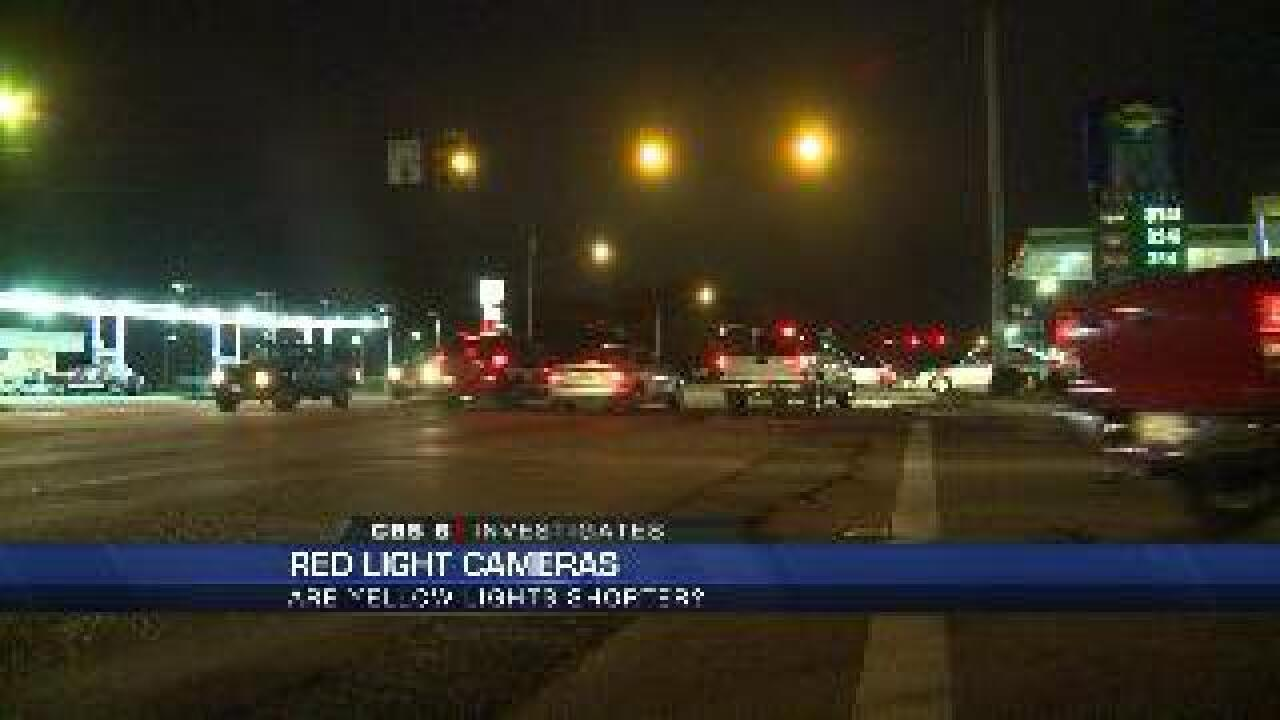 Concerns over the length of yellow lights in metro-Richmond