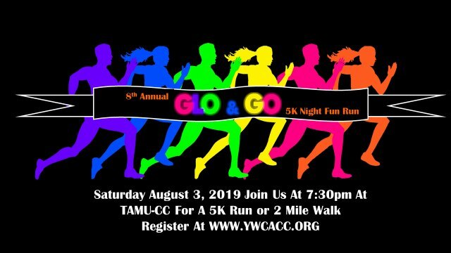 YWCA Corpus Christi‎ - Glo & Go 5K Night Fun Run Facebook Page.jpg