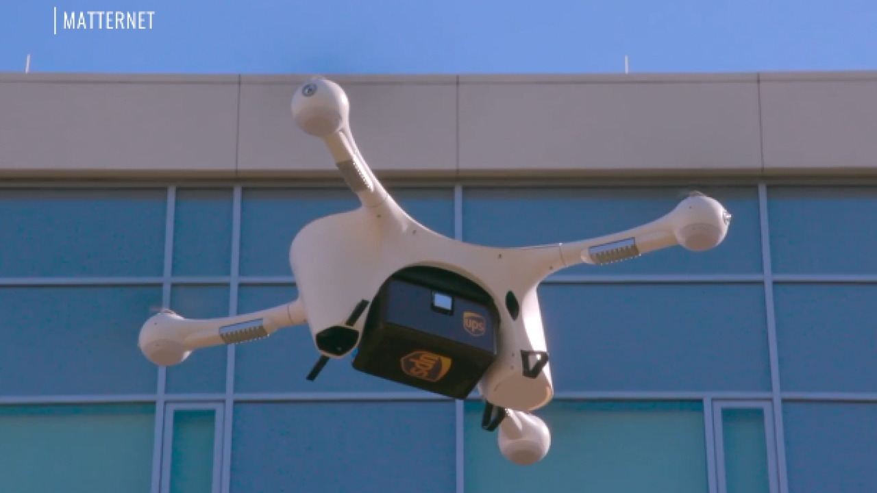Tech company works to get its drones to health care providers fighting pandemic