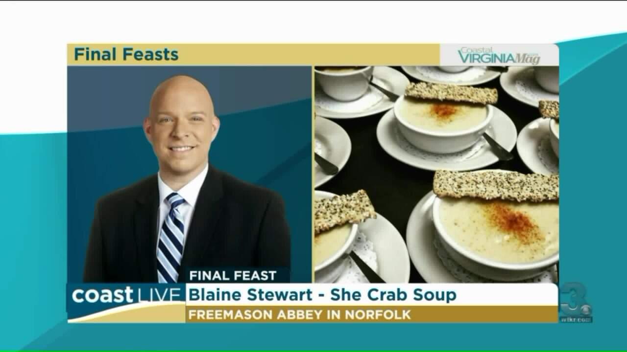 "Local celebs choose a ""Final Feast"" with Coastal Virginia Magazine on CoastLive"
