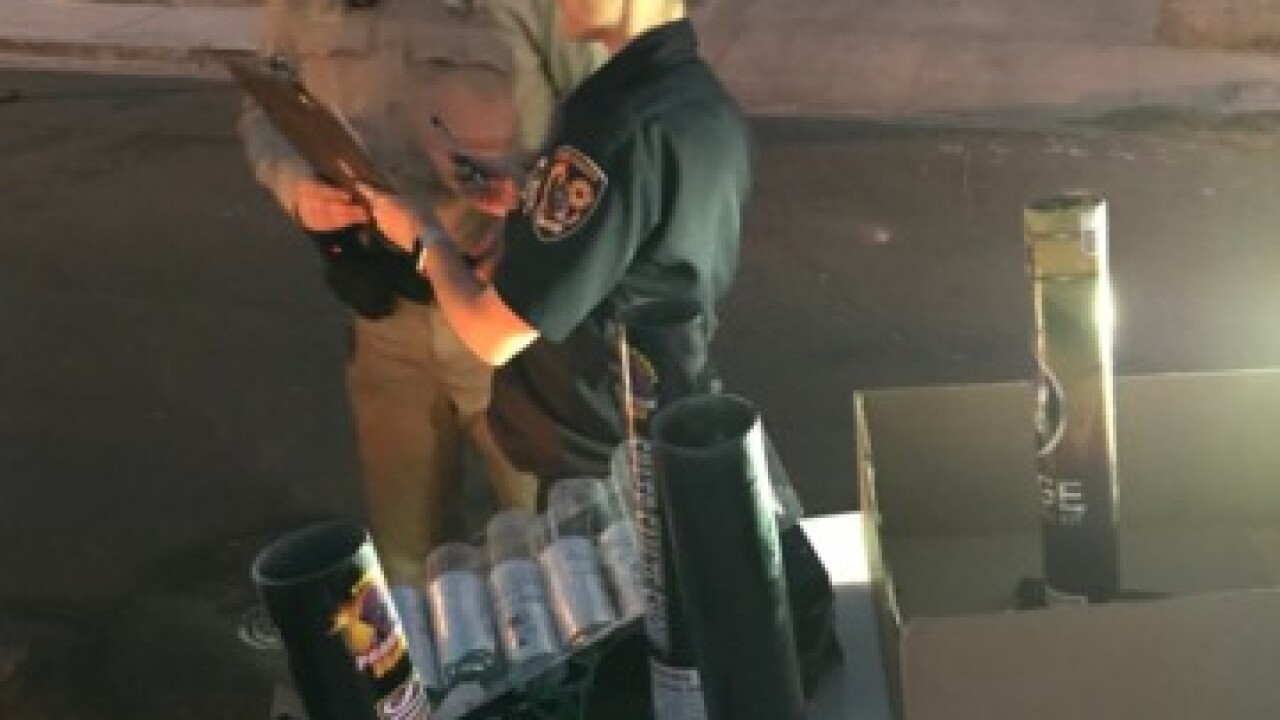 Impact of illegal firework crackdown unclear