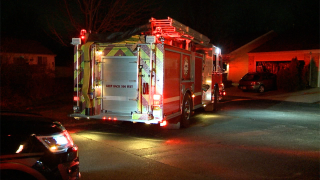 Firefighters on scene of gas leak at Kentwood townhome