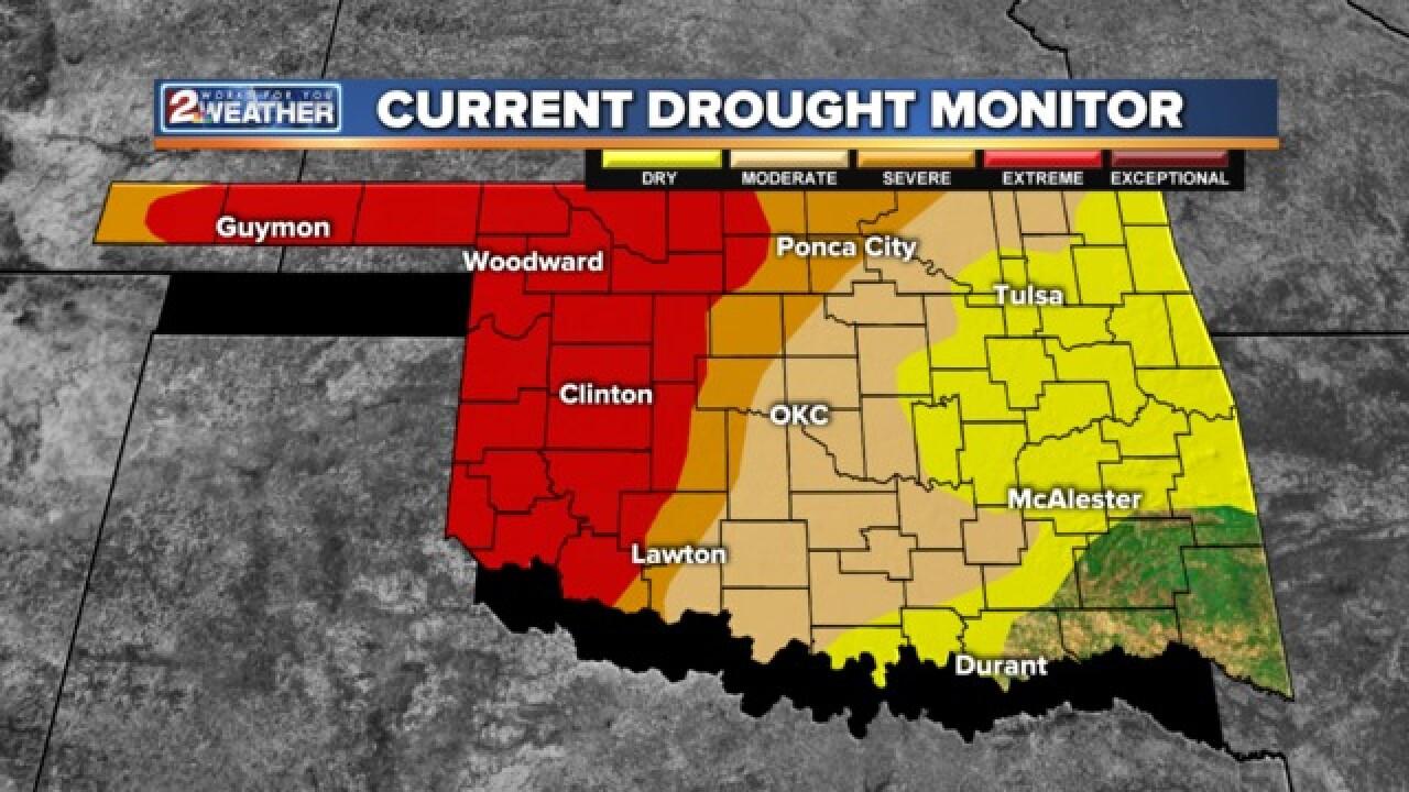 BLOG: Still drought in Oklahoma