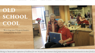 Lute Olson, El Continental Barber Shop