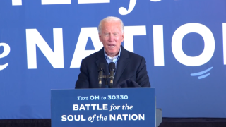 Joe Biden in Cleveland.